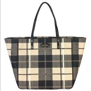 Kate Spade Ryan Pumice Multi Tote Handbag Purse
